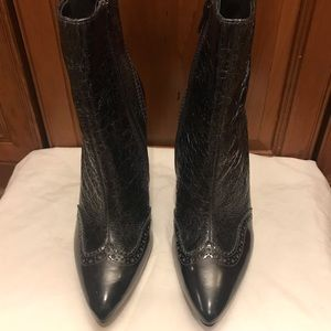 Tory Burch black leather boot